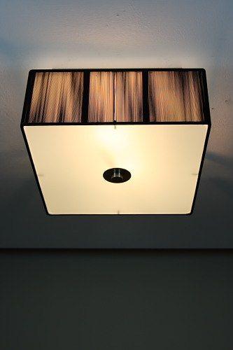Deckenleuchte hotel deckenlampe leuchte schlafzimmer lampe for Stofflampe decke