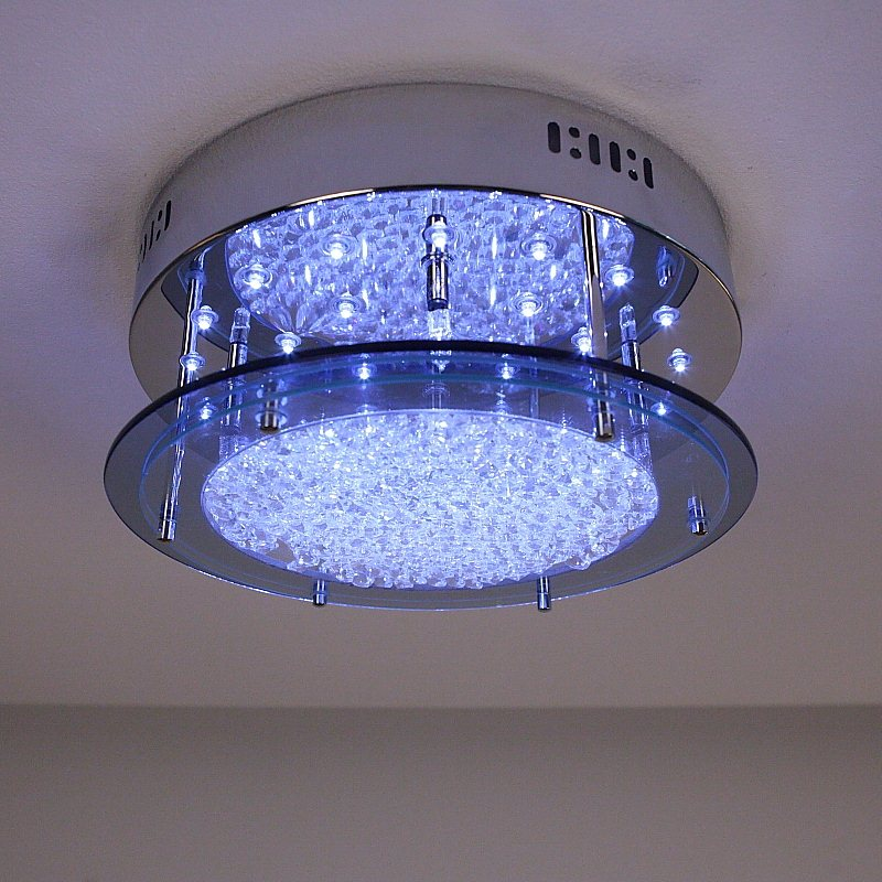 deckenleuchte deckenlampe led halogen lampen glas leuchten beleuchtung neu ebay. Black Bedroom Furniture Sets. Home Design Ideas