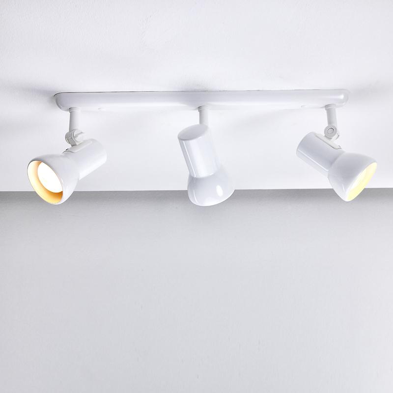 deckenstrahler wandlampe strahler deckenlampe wandstrahler spot retro lampen neu ebay. Black Bedroom Furniture Sets. Home Design Ideas
