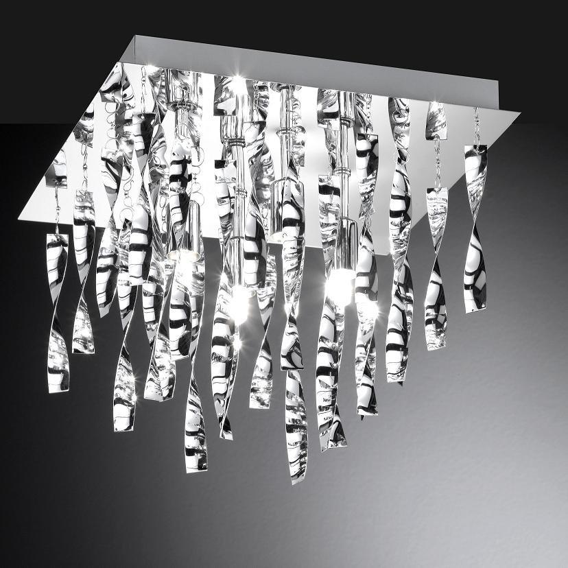 Deckenleuchte deckenlampe lampe osram halopin leuchten for Deckenlampe viereckig