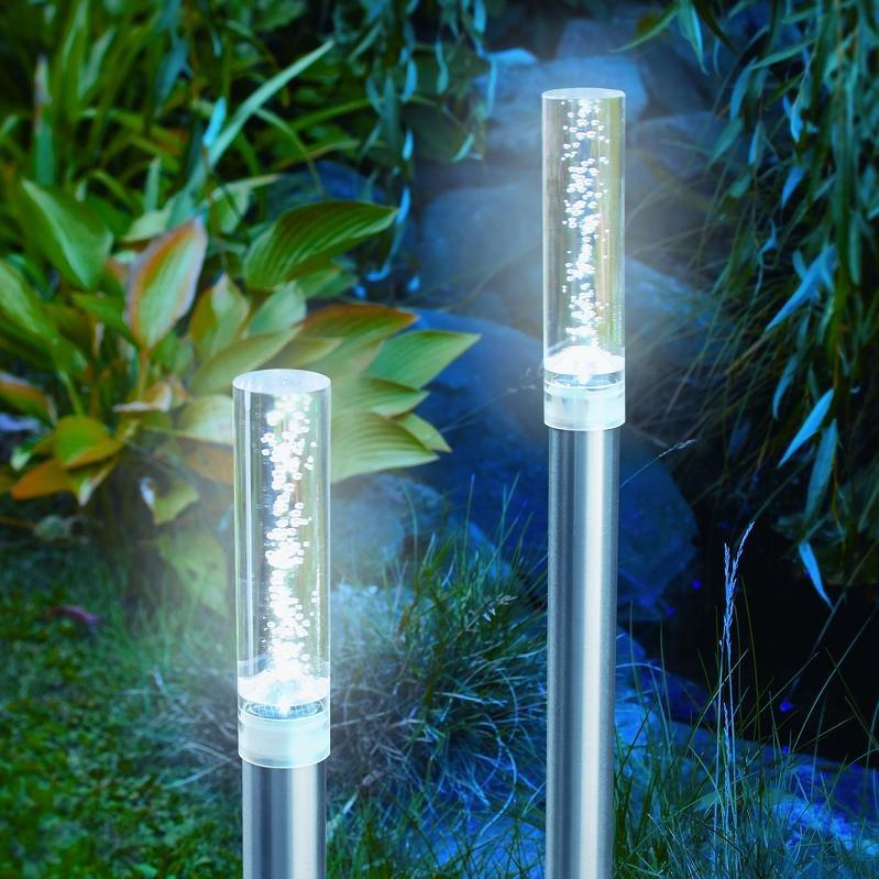 Led solarleuchte au enlampe gartenleuchte lampe licht for Gartendeko licht
