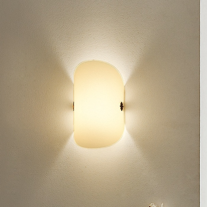 Wandleuchte wandlampe dekor glas lampen leuchten - Wandleuchte landhaus ...