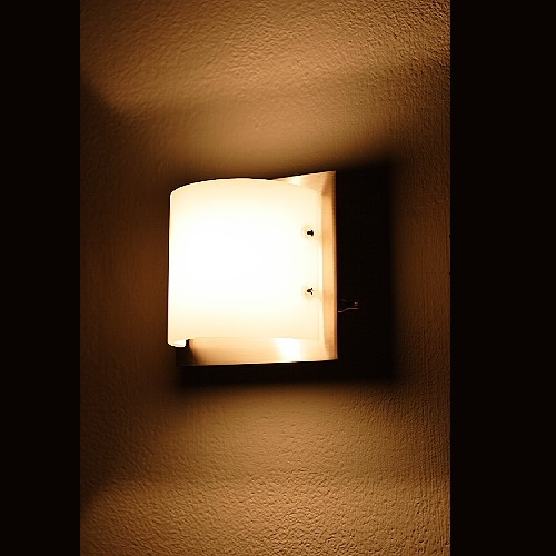 wandleuchte wandlampe mit dimmer hochvolt halogen leuchte lampe beleuchtung ebay. Black Bedroom Furniture Sets. Home Design Ideas