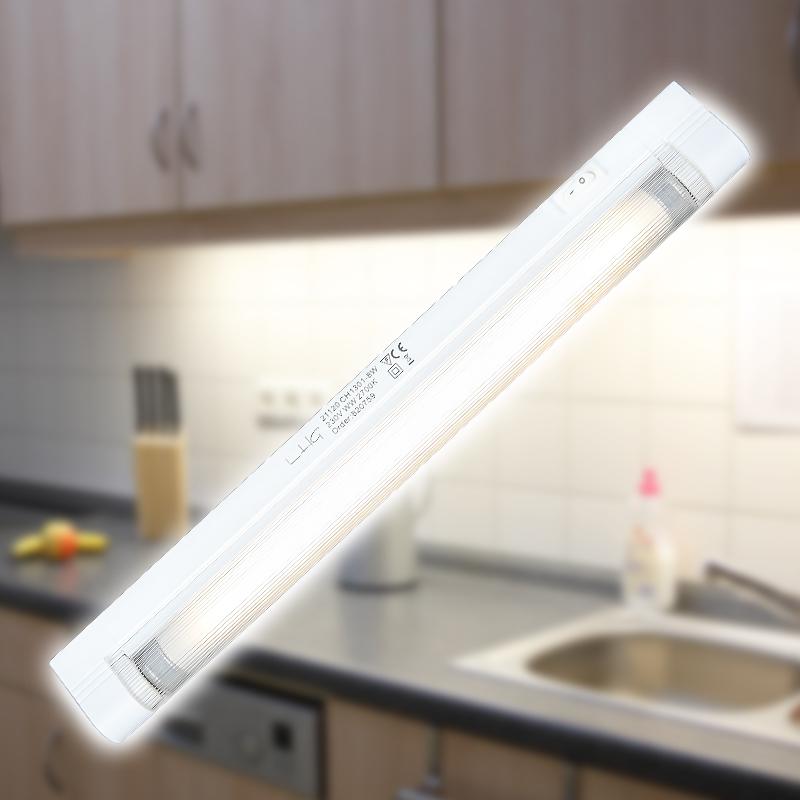 Lichtleiste unterbauleuchte mobelleuchte anbauleuchte for Lichtleiste küche