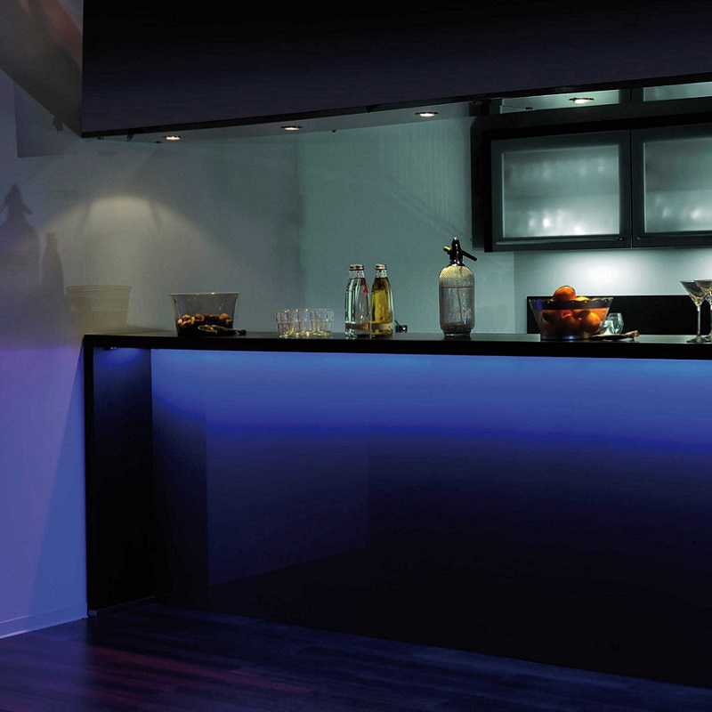 led lichtstreifen stripes fernbedienung farbwechsel beleuchtung stimmungslicht ebay. Black Bedroom Furniture Sets. Home Design Ideas