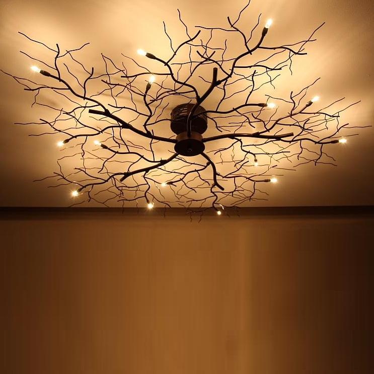 Deckenleuchte 15 Flammige 1140 Cm Deckenlampe Ast Leuchte