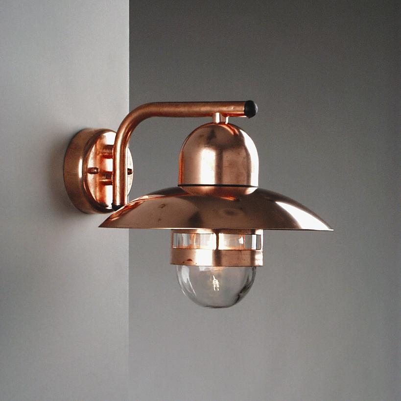 au enwandleuchte wandleuchte wandlampe lampe leuchte kupfer design au en neu ebay. Black Bedroom Furniture Sets. Home Design Ideas