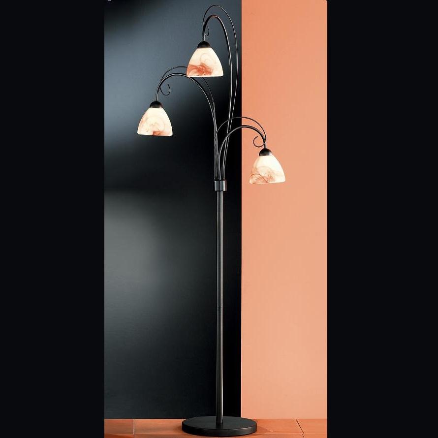stehleuchte stehlampe rost antik nostalgie landhaus lampe leuchte beleuchtung. Black Bedroom Furniture Sets. Home Design Ideas
