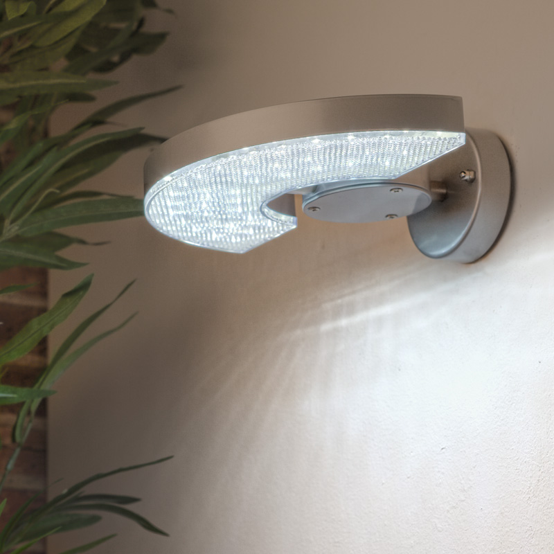 wandleuchte led wandlampe aussenwandleuchte tageslicht lampe leuchte bware. Black Bedroom Furniture Sets. Home Design Ideas