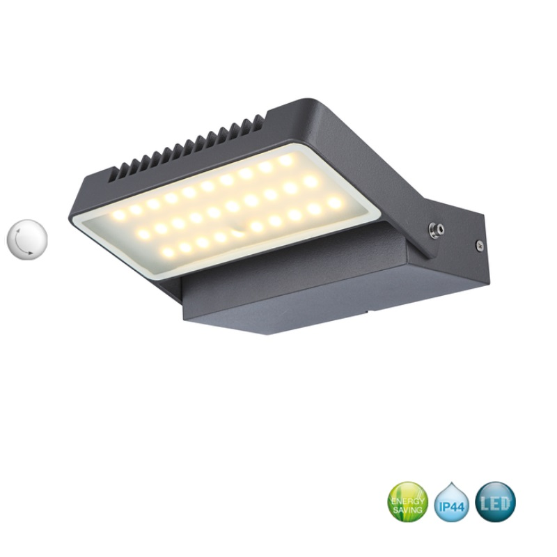 Luminaire ext rieur led applique murale pivotant lumi re for Applique murale exterieur ebay