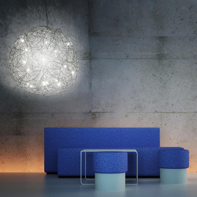 pendelleuchte pendellampe kugelleuchte 70cm. Black Bedroom Furniture Sets. Home Design Ideas