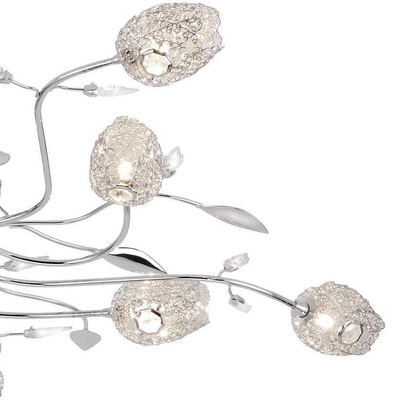 deckenleuchte deckenlampe drahtgeflecht lampe leuchte. Black Bedroom Furniture Sets. Home Design Ideas