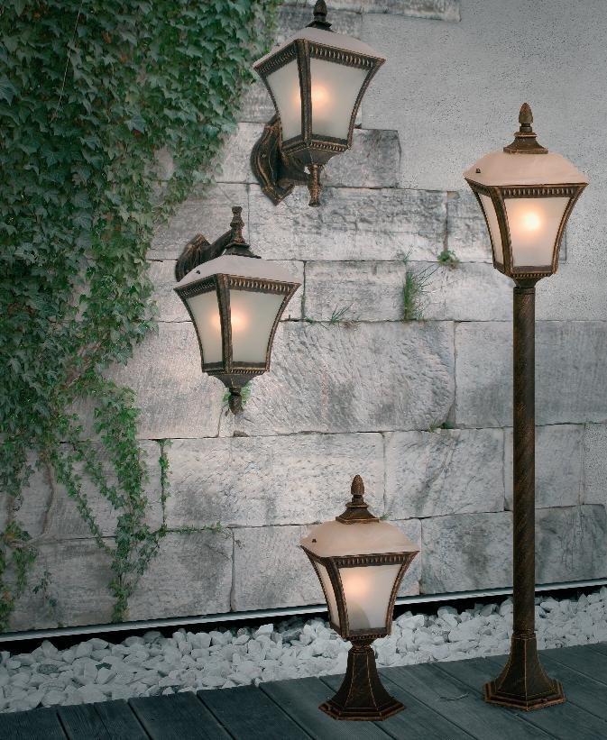 luminaire ext rieur applique ext rieur lampes d 39 clairage neuf ebay. Black Bedroom Furniture Sets. Home Design Ideas