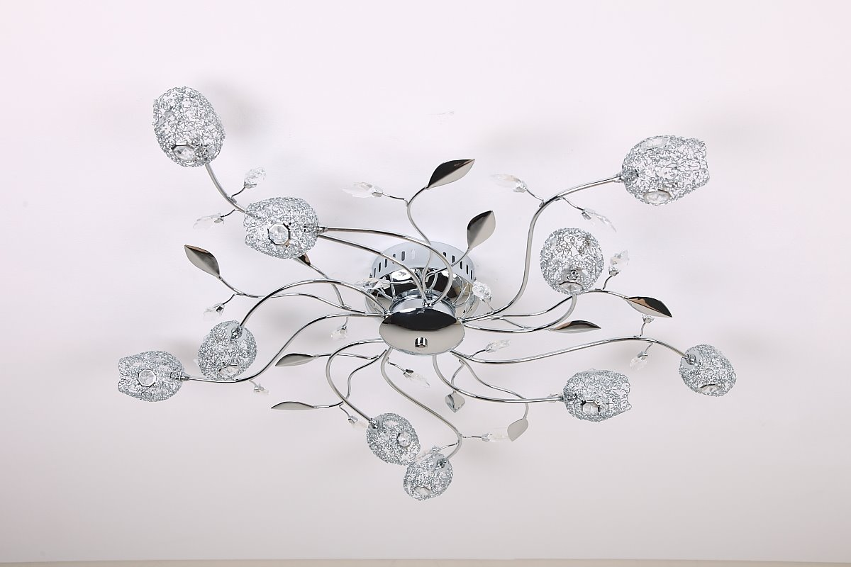 plafonnier treillis m tallique lampe luminaire clairage moderne neuf ebay. Black Bedroom Furniture Sets. Home Design Ideas