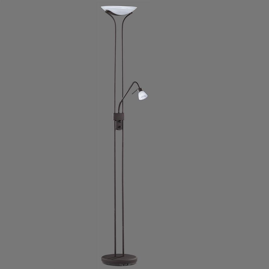 stehleuchte stehlampe lesearm fluter deckenfluter rost. Black Bedroom Furniture Sets. Home Design Ideas