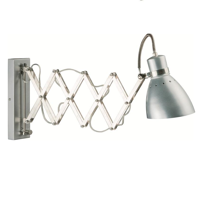 wandleuchte wandlampe leselampe leseleuchte flexarm. Black Bedroom Furniture Sets. Home Design Ideas