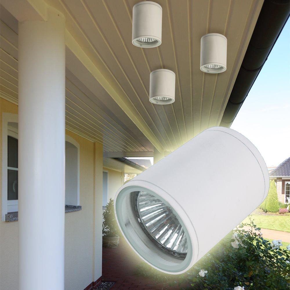 au enleuchte aufbau downlight wei strahler lampe spot. Black Bedroom Furniture Sets. Home Design Ideas