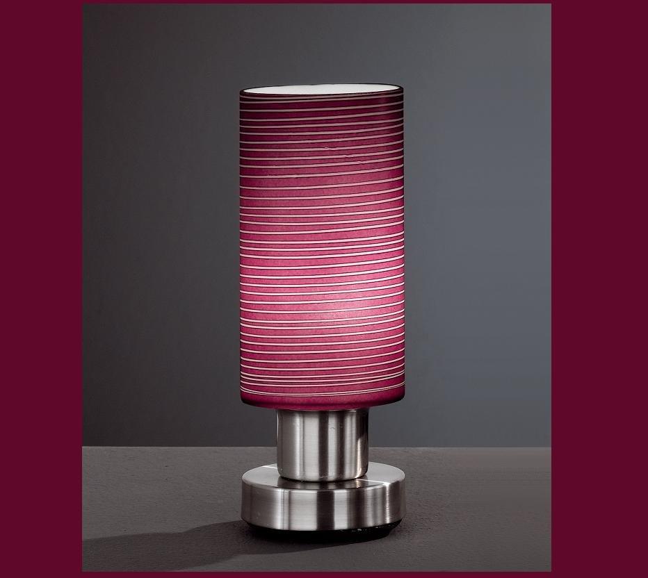 tischleuchte tischlampe modern bunt glas farbig lampe leuchte beleuchtung neu ebay. Black Bedroom Furniture Sets. Home Design Ideas
