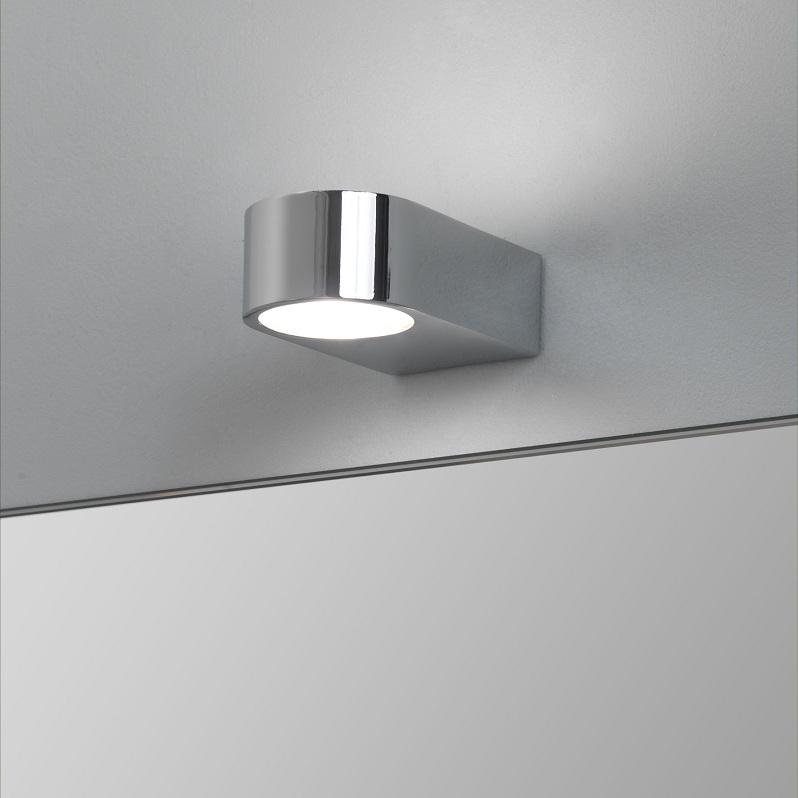 wandleuchte chrom up down badezimmer leuchte lampe modern design beleuchtung ebay