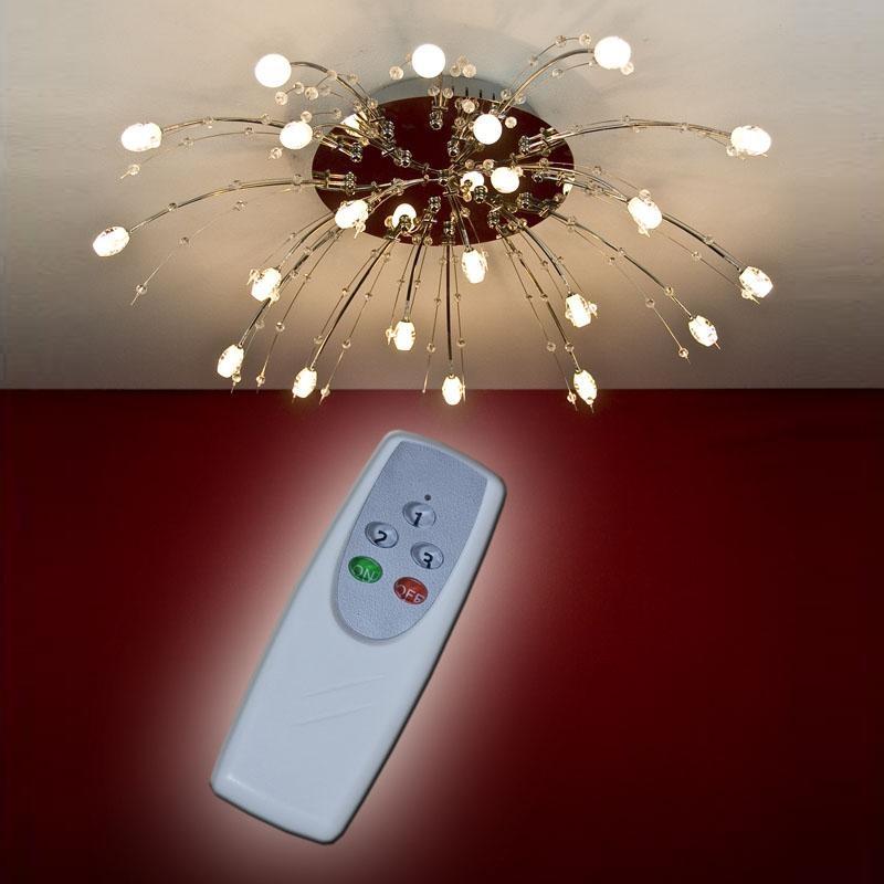 deckenleuchte deckenlampe fernbedienung dekorativ lampe leuchte beleuchtung neu ebay. Black Bedroom Furniture Sets. Home Design Ideas
