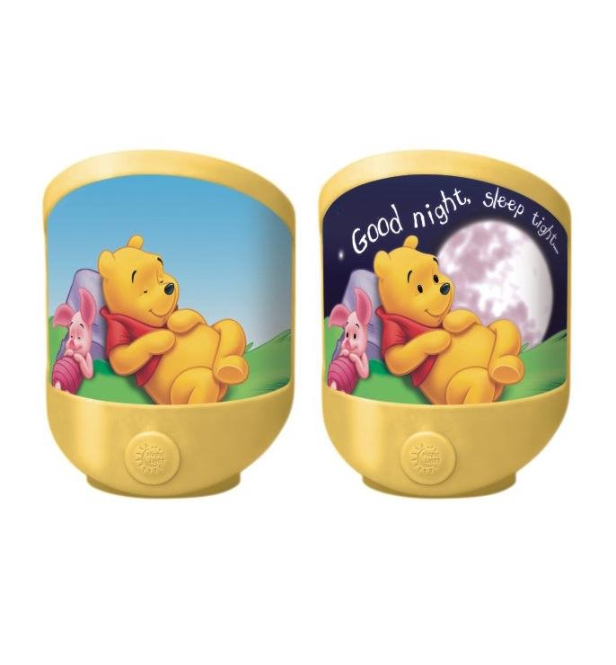 led nachtlicht winnie pooh kinderleuchte kinderlampe lampe. Black Bedroom Furniture Sets. Home Design Ideas