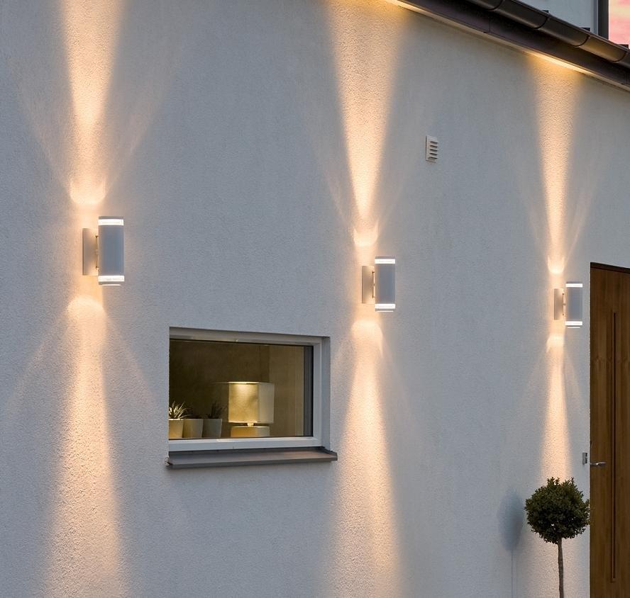 wandstrahler au enlampe wandleuchte au enwandleuchte lampe wandlampe leuchte ebay. Black Bedroom Furniture Sets. Home Design Ideas
