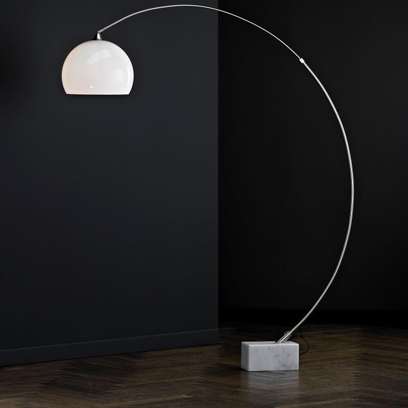 bogenstehleuchte stehlampe bogenleuchte standlampe. Black Bedroom Furniture Sets. Home Design Ideas