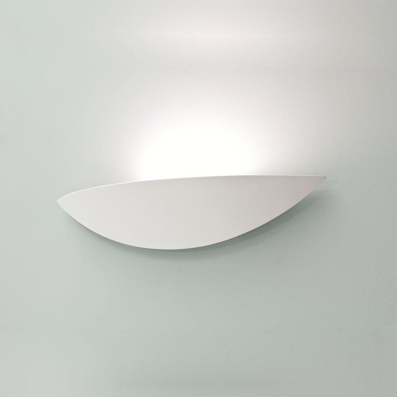luce lampada da parete ceramica gesso lampada luce alogena design moderno nuovo ebay. Black Bedroom Furniture Sets. Home Design Ideas