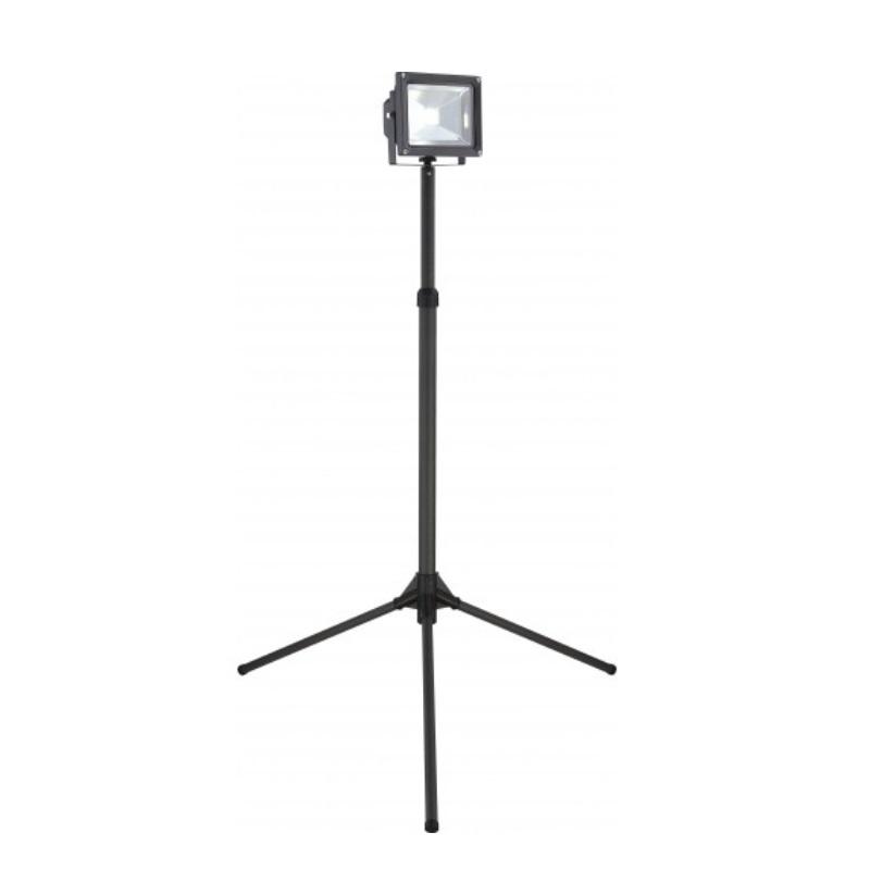 led baustrahler flutlicht strahler flutlichtstrahler stativ lampen leuchten neu ebay. Black Bedroom Furniture Sets. Home Design Ideas