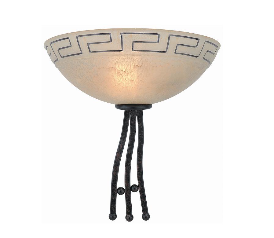 wandleuchte im landhausstil 1flammig wandlampe lampen. Black Bedroom Furniture Sets. Home Design Ideas