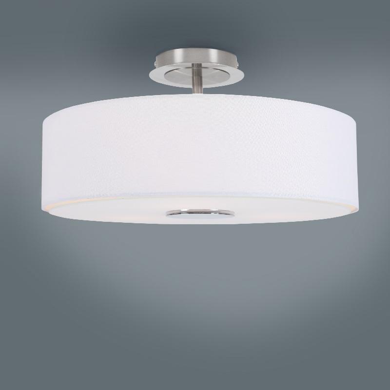 deckenleuchte deckenlampe stoffschirm lampe leuchte. Black Bedroom Furniture Sets. Home Design Ideas