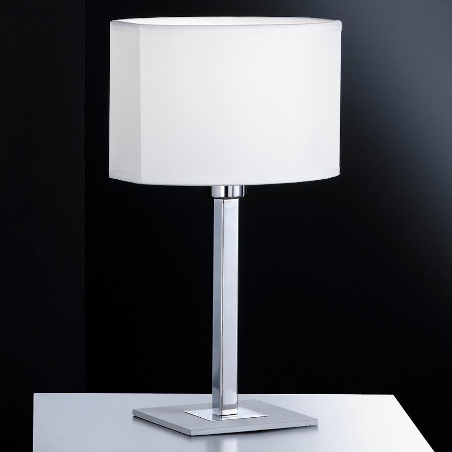 tischleuchte tischlampe modern edel glas wei lampe leuchte beleuchtung neu ebay. Black Bedroom Furniture Sets. Home Design Ideas
