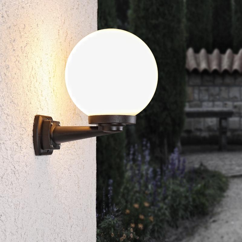 wandleuchte au enwandleuchte au enbeleuchtung wandlampe. Black Bedroom Furniture Sets. Home Design Ideas