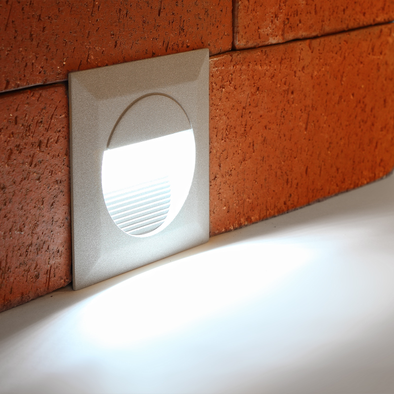 LED Outdoor Wall Light Recessed Spotlight Wall Light Outdoor Lamp New eBay