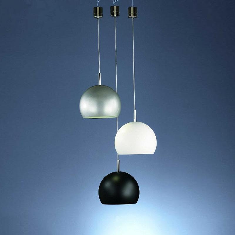 pendelleuchte wei modern design h ngelampe h ngeleuchte lampen leuchten neu ebay. Black Bedroom Furniture Sets. Home Design Ideas
