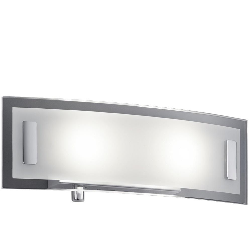 led applique murale variateur rotatif chrome verre 2x4 5w clairage lampes. Black Bedroom Furniture Sets. Home Design Ideas