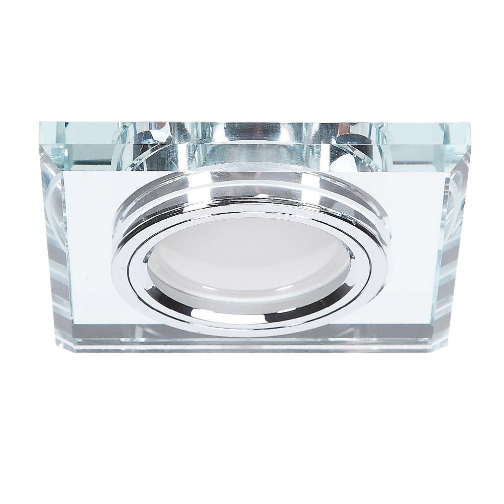 einbaustrahler mit glasrahmen 4 fach dimmbar einbauleuchte. Black Bedroom Furniture Sets. Home Design Ideas