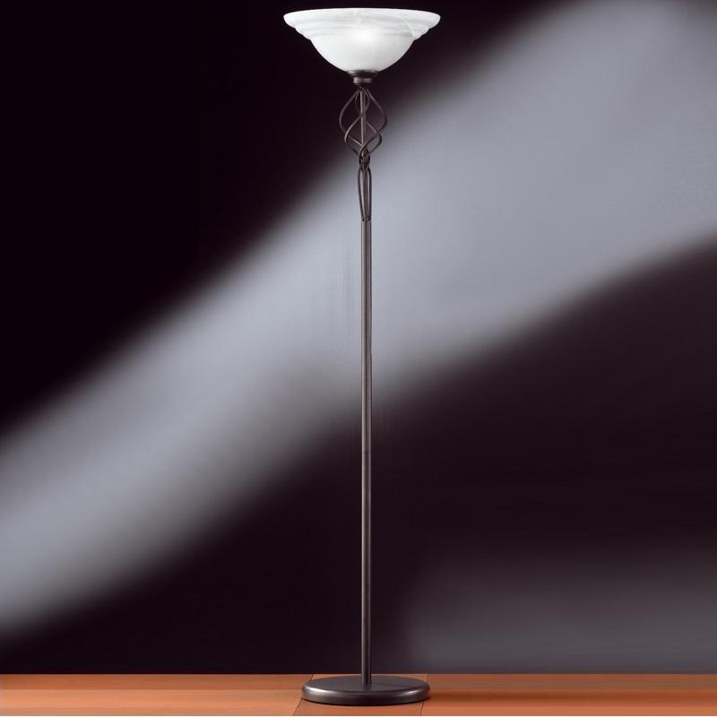 fluter stehleuchte stehlampe deckenfluter rustikal antik. Black Bedroom Furniture Sets. Home Design Ideas