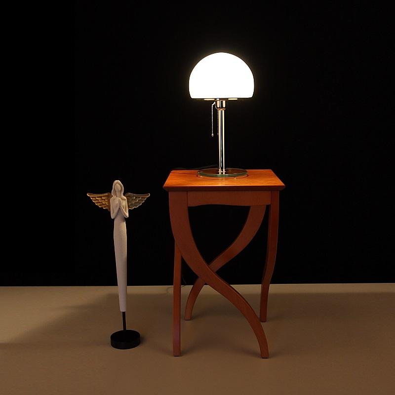 tischleuchte tischlampe bauhaus lampen opalglas leuchten glas beleuchtung neu ebay. Black Bedroom Furniture Sets. Home Design Ideas