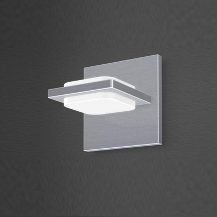 led wandleuchte wandlampe wohn raum leuchte beleuchtung lampe licht 2x 4 3watt ebay. Black Bedroom Furniture Sets. Home Design Ideas