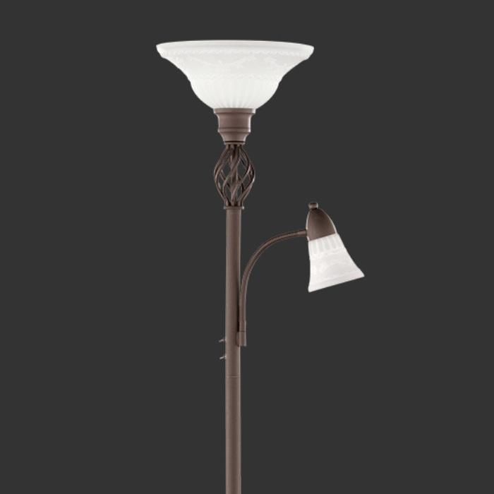 Deckenfluter Fluter Stehlampe Lesearm Landhaus Rustikal Lampe ...