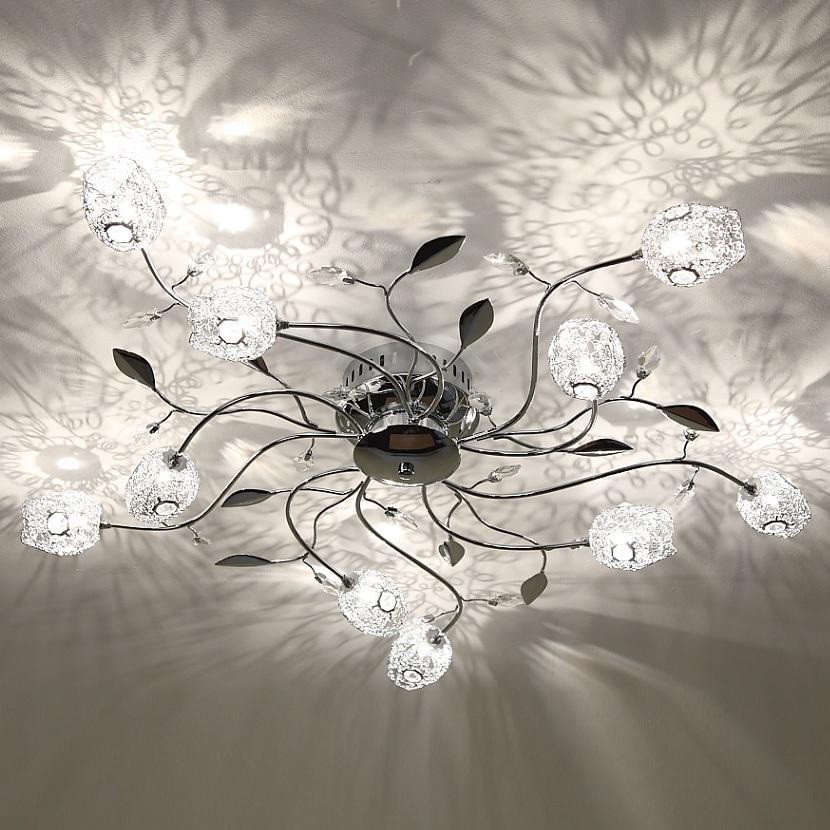 Deckenleuchte Deckenlampe Drahtgeflecht Lampe Leuchte Beleuchtung