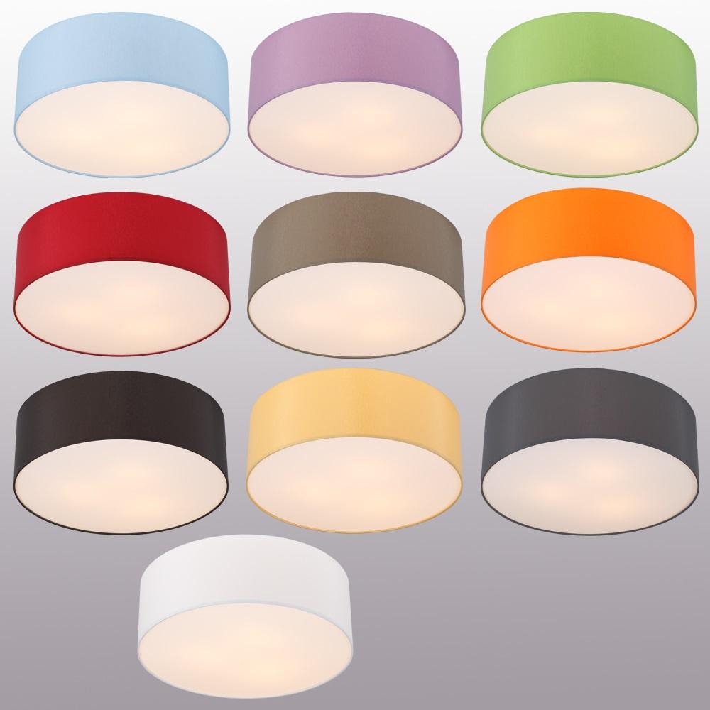 deckenleuchte mit lampenschirm 62cm deckenlampe leuchten lampen beleuchtung ebay. Black Bedroom Furniture Sets. Home Design Ideas