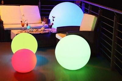 kugellampen innen boden solarlampe kugel 25 cm d nisches bettenlager led solar kugeln 15. Black Bedroom Furniture Sets. Home Design Ideas