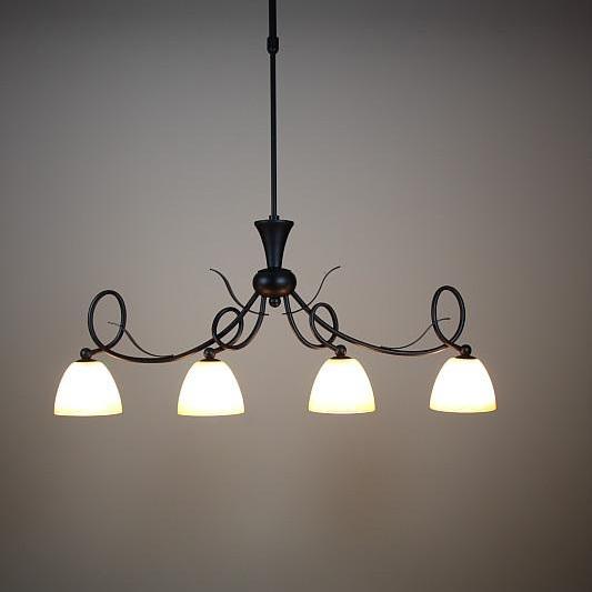 Pendelleuchte Hängeleuchte Landhaus Glas Lampe Leuchte Pendellampe ...