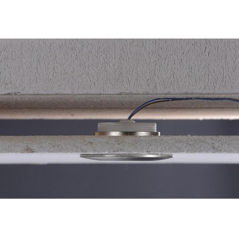 led einbaustrahler 5er set aluminium rund 4 fach dimmbar leuchten lampe strahler ebay. Black Bedroom Furniture Sets. Home Design Ideas