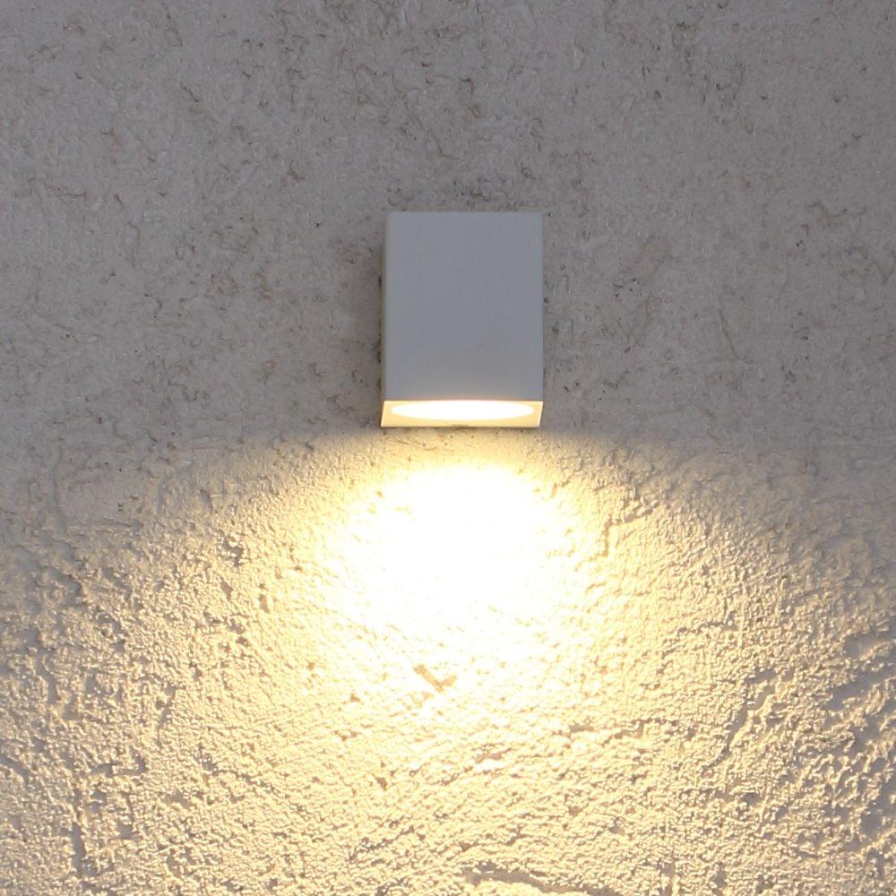 LED Außenwandstrahler 5W Wandfluter Außenwandleuchte Fluter Strahler Spot weiß
