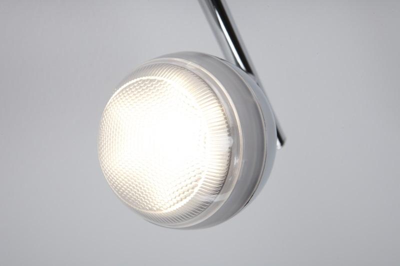 led deckenstrahler 6x5w strahlerbalken deckenleuchte deckenlampe 6 flammig spots ebay. Black Bedroom Furniture Sets. Home Design Ideas
